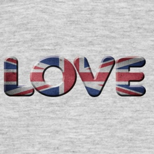 I LOVE ENGLAND GREAT BRITIAN - Men's T-Shirt