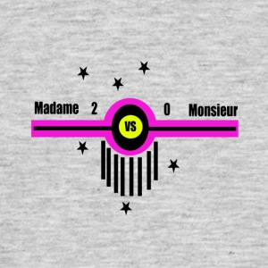 Mrs. Mr. kontra - T-shirt herr