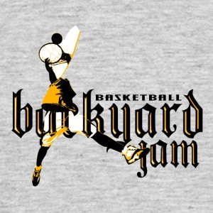 BASKETBALL BACKYARD 01 - Men's T-Shirt
