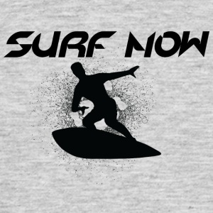 surf nu sort - Herre-T-shirt