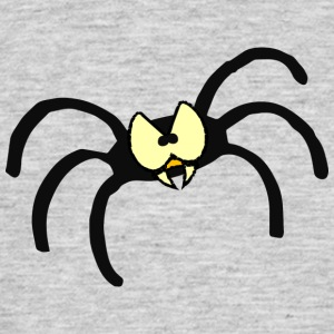 Spider svart - T-skjorte for menn