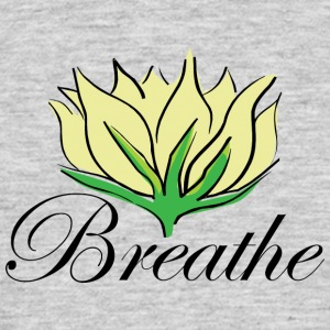 Yoga Breathe - Herre-T-shirt