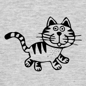 sweed Cat - Mannen T-shirt