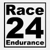 Race24 logo in black - Men's T-Shirt