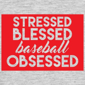 Baseball: Sollecitato Beato - Baseball Obsessed - Maglietta da uomo