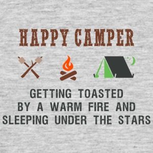 happy Camper - Mannen T-shirt