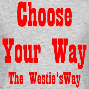 Choose Your Way Red - Men's T-Shirt