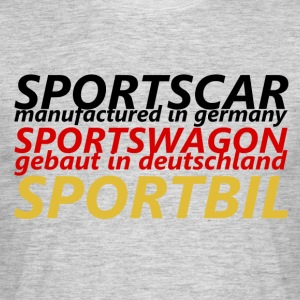 Sports Car - Men's T-Shirt