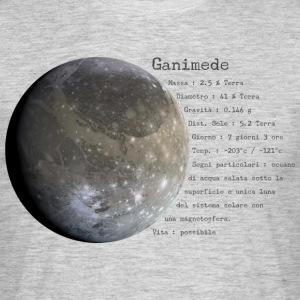 Ganymede - T-skjorte for menn