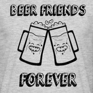 Beer Friends Forever - T-shirt Homme