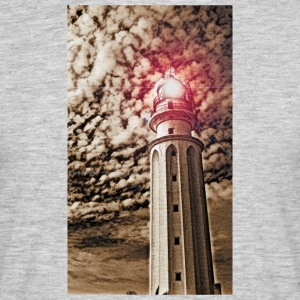 LIGHTHOUSE TRAFALGAR_SEPIA - T-shirt Homme