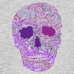 Ornate-Skull-in-Purple - Camiseta hombre