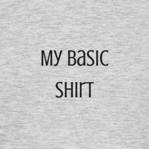 Mijn basic shirt - Mannen T-shirt