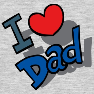I-Love-Dad - T-shirt herr