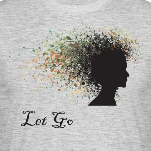 Yoga Let Go - Mannen T-shirt