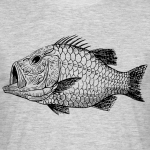 Monster from the deep sea / Cretaceous - Men's T-Shirt