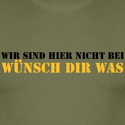 Wünsch Dir Was - Männer T-Shirt