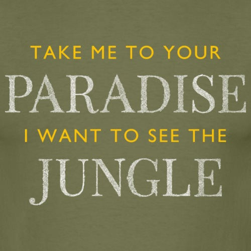 Paradise - Men's T-Shirt