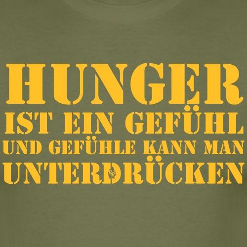 Hunger Ist Ein Gefühl - Männer T-Shirt
