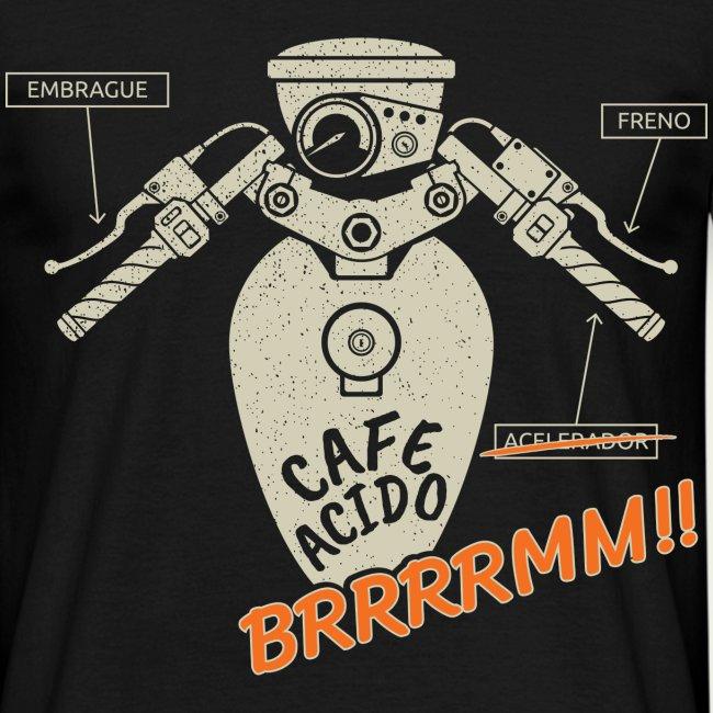 Manillar cafe racer