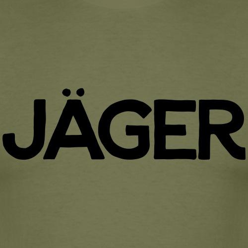einfach Jäger-Shirt - Männer T-Shirt