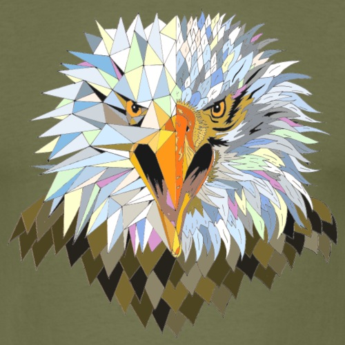 Eagle bird animal nature - Men's T-Shirt