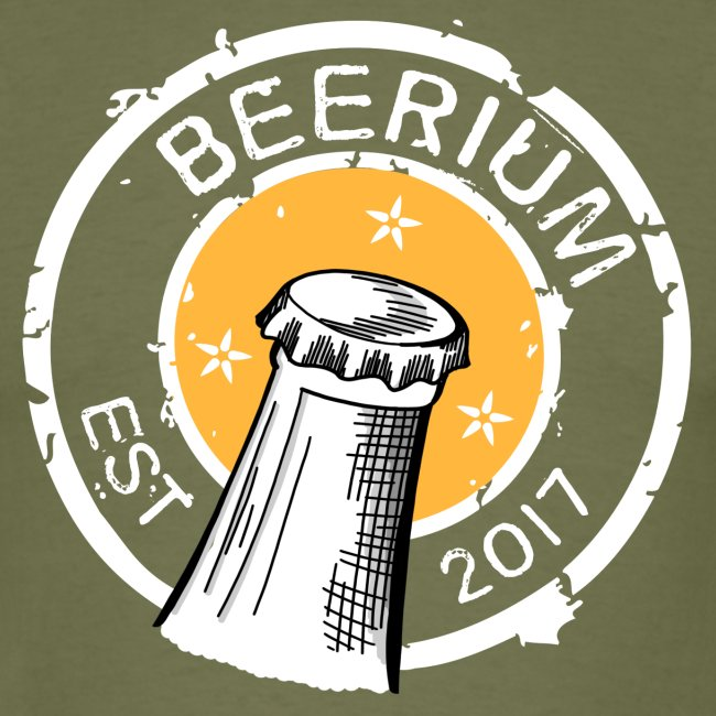 BEERIUM Logo mot svart