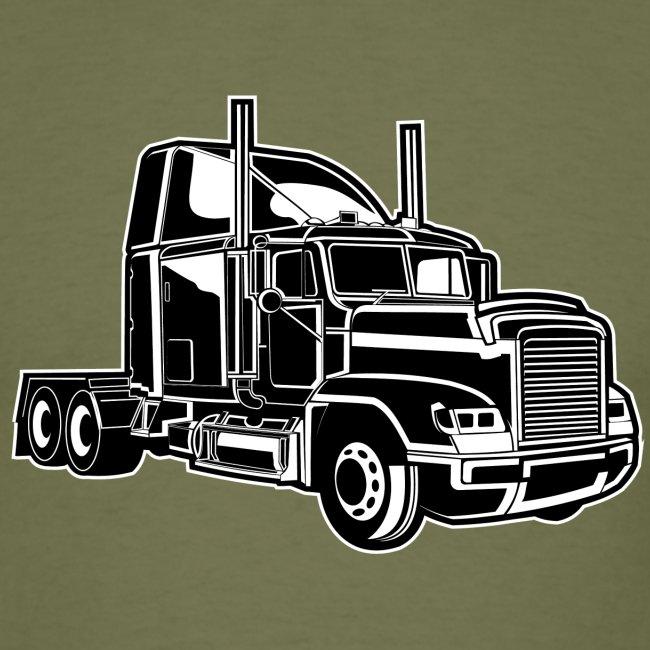 Truck / Lkw 02_schwarz weiß