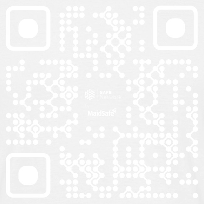 QR - Maidsafe.net White