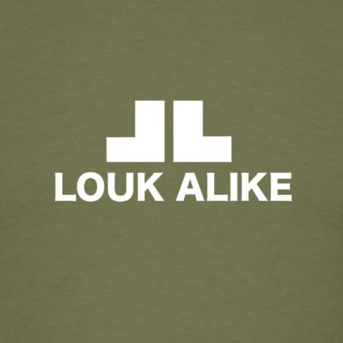 Louk Alike (donekere pull-kleuren) - Mannen T-shirt