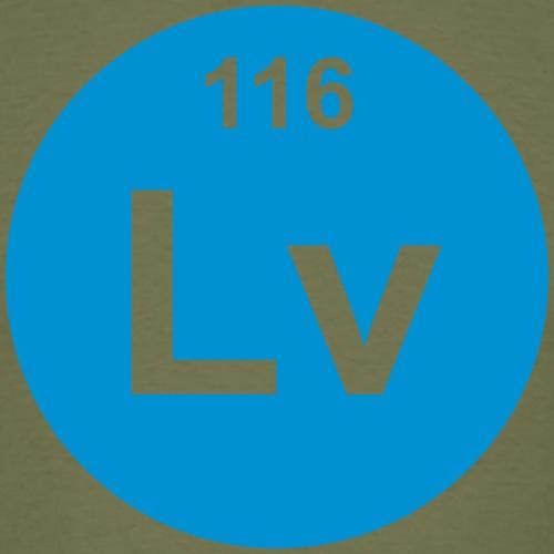 Livermorium (Lv) (element 116) - Men's T-Shirt