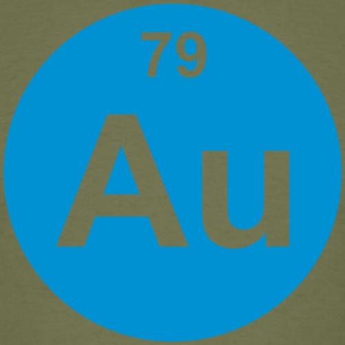 Gold (Au) (element 79) - Men's T-Shirt