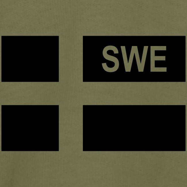 Hemvärnet Korslagda Ak 4C + SWE flag