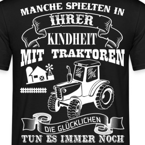 farmer tractor - Men's T-Shirt