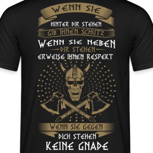Vikings, No Mercy - T-shirt herr