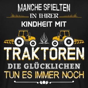 Farmers play Tractor - Men's T-Shirt