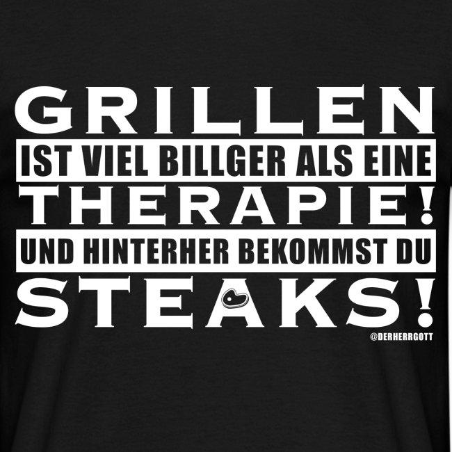 Grillen - Therapie - Steaks