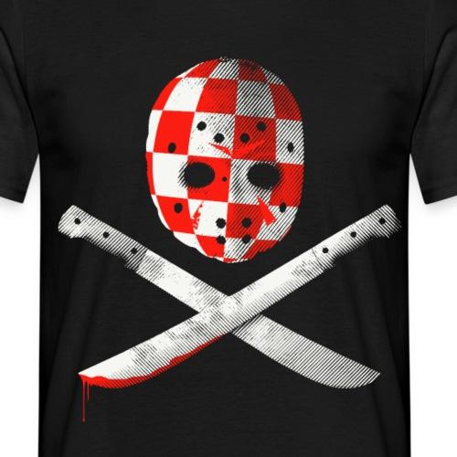 Boozedrome - Mask and Machetes - Miesten t-paita