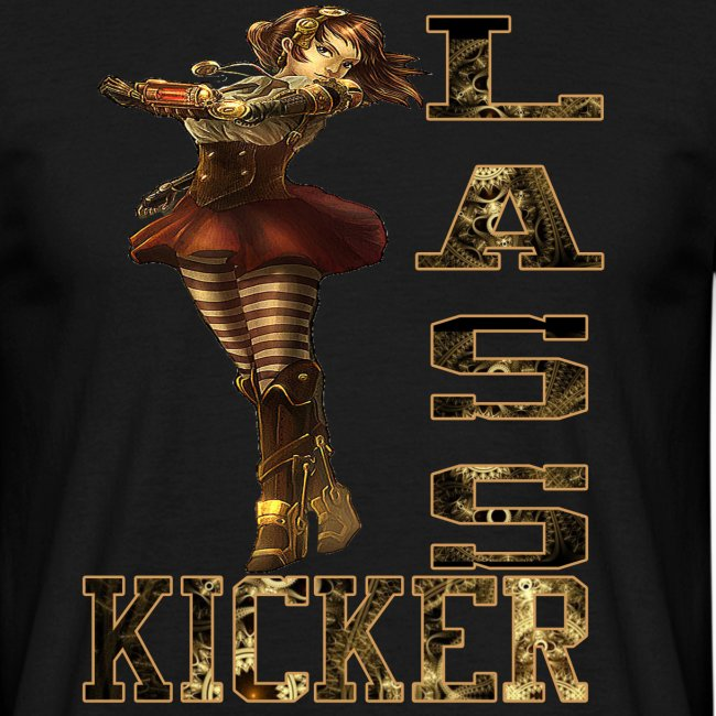 Lass Kicker Steampunk