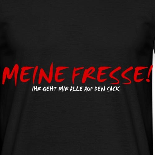Genervt Meine Fresse Sack Shirt Geschenk Idee - Männer T-Shirt