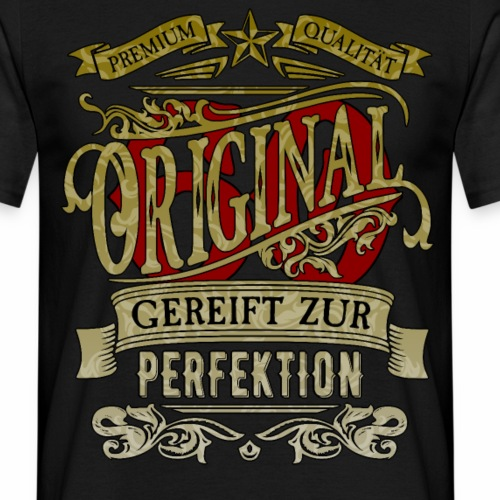 Original60 Premium Qualität Gereift zur Perfektion - Männer T-Shirt