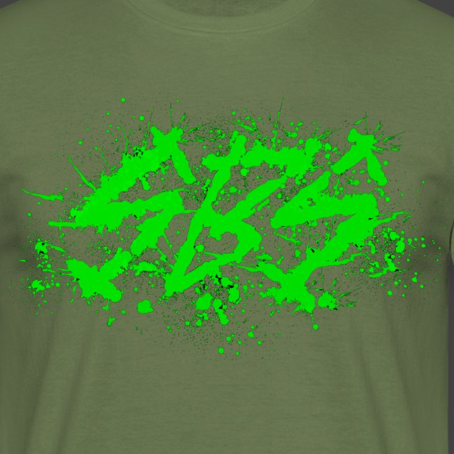 SBS Splatter Green Logo