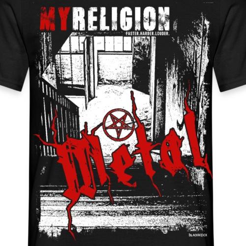 METAL | LOST PLACES - Männer T-Shirt