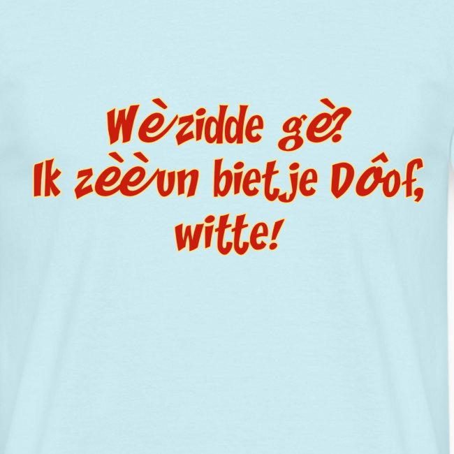 Hearing awareness op zn tilburgs !!