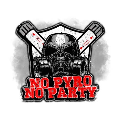 No Pyro No Party T-shirt - Men's T-Shirt