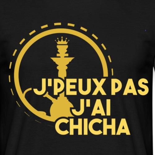 J PEUX PAS J AI CHICHA GOLD + # - T-shirt Homme