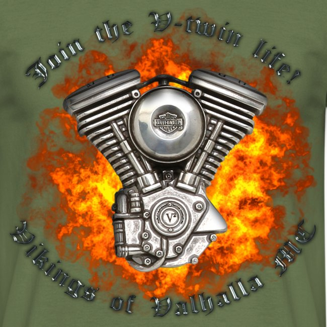 V twin png