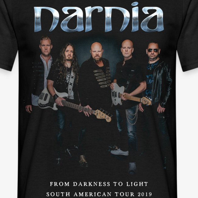 Narnia South American Tour 2019 T-shirt