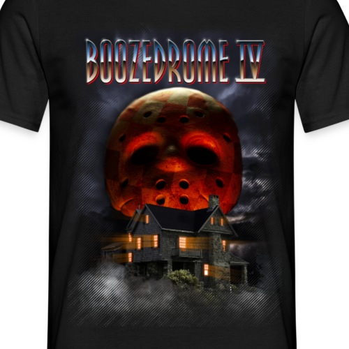 Boozedrome - Boozedrome IV cover - Miesten t-paita