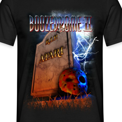 Boozedrome - Boozedrome II cover - Miesten t-paita